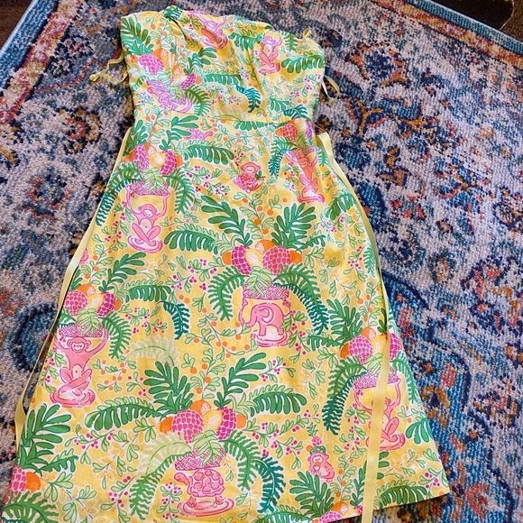 Vintage Monkey print Lilly Pulitzer Dress